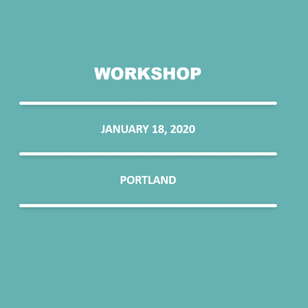 January 18, 2020 – 9:00 am – 1:00 pm (@ 52 Limited, 135 NE 9th, Portland, OR 97232)